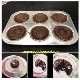 Resepi Kek Coklat Lava Viral