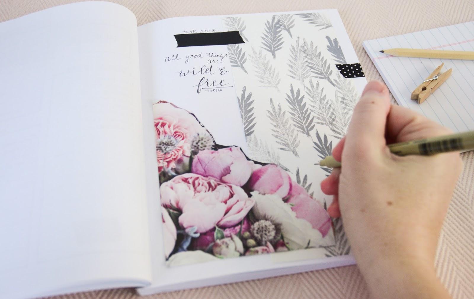 Shayda Campbell: January BuJo + Free Stickers