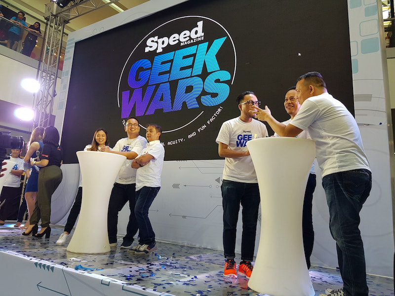 Speed Magazine's Geek Wars brought fun at SM Cybermonth kick-off event!