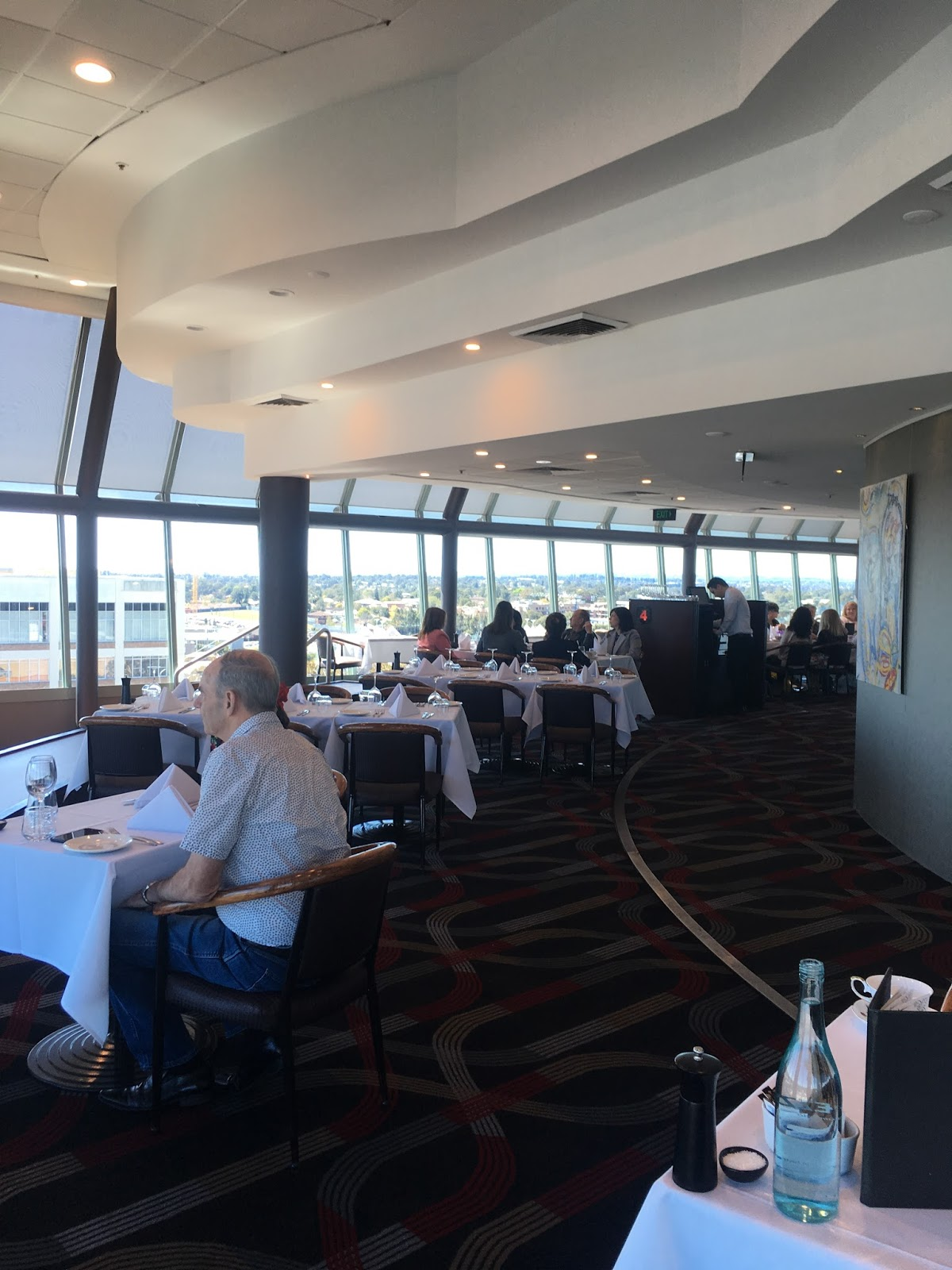 Cucina Revolving Restaurant Weekend Food Escapes Cucina Locale Revolving Restaurant Blacktown