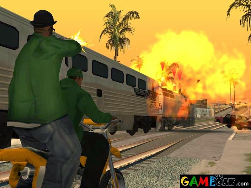 Extra ordinary features in GTA San Andreas free download