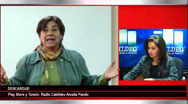 Amalia Pando y Roxana Lizárraga transmiten su programa por Radio Líder, internet y plataformas digitales