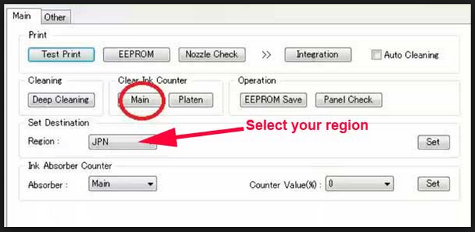 Free Download Driver and Resetter Printer: Service Tool