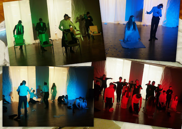 """Выставка авторской куклы в Самаре """"Куклы. Эмоции. Чувства."""", спектакль театра - студии """"Зерцало"""" """"Белый лист"""""""