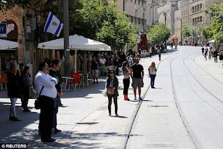 Israel faz minuto de silêncio para recordar as vítimas do Holocausto