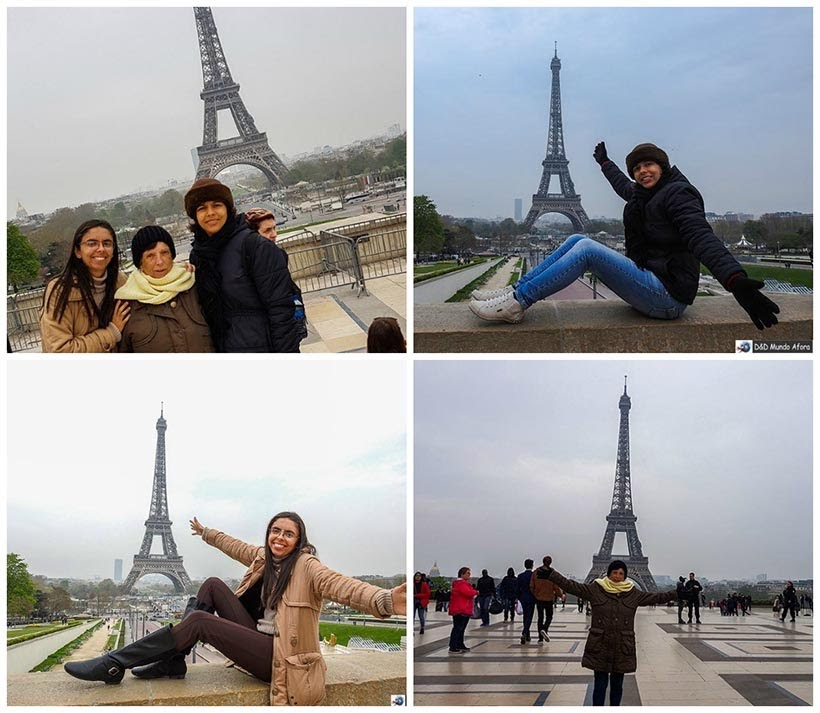 Praça Trocadéro - Diário de Bordo - 3 dias em Paris