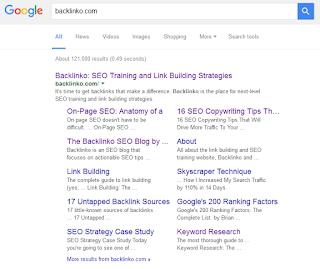 sitelink blog yang trafiknya normal