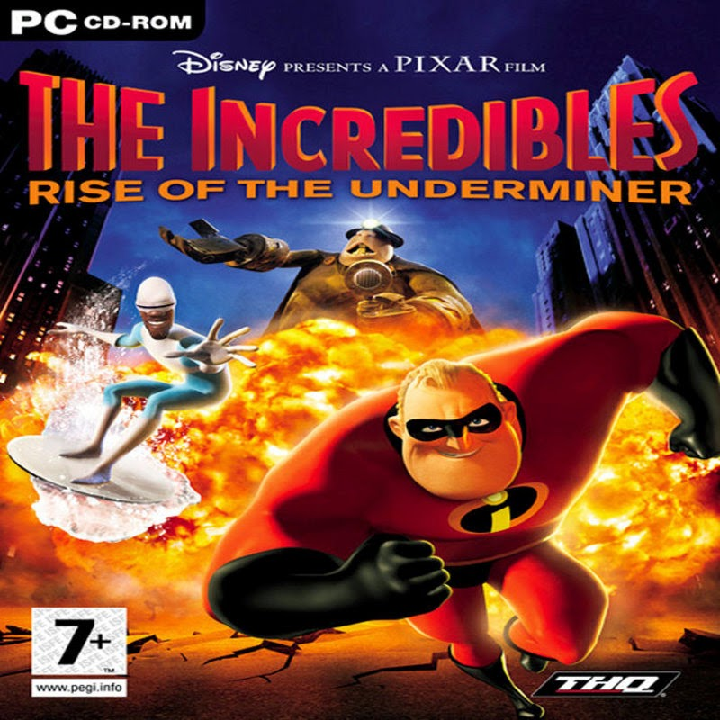 The incredibles: rise of the underminer full game free pc.
