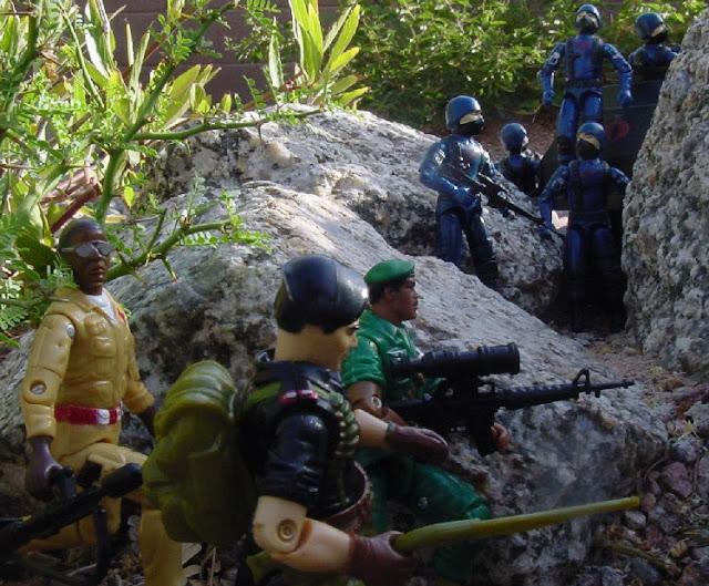 1983 Cobra Trooper, 1985 Flint, SOS, Medico, Argentina, Plastirama, Doc, 2005 Stalker, Comic Pack