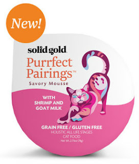 Purrfect Pairings cat food is new from Solid Gold