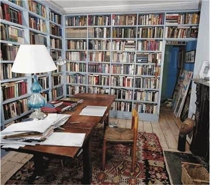 Workspaces Of The Greatest Artists Of The World (38 Pictures) - Colm Tóibín, writer