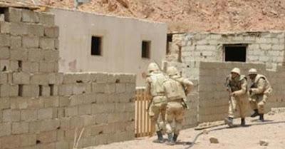 عاااااجل ............ الجيش المصري ينجح في تدمير وكر ارهابي في سيناء