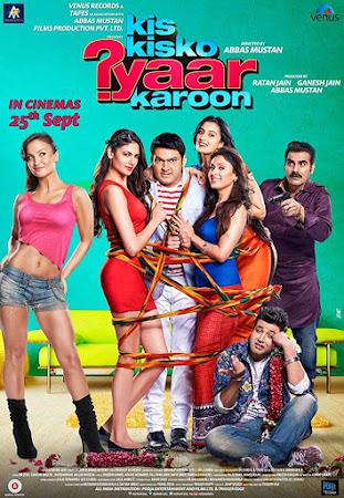 Poster Of Hindi Movie Kis Kisko Pyaar Karoon 2015 Full HD Movie Free Download 720P Watch Online
