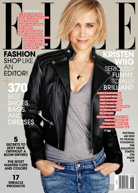 Kristen Wiig Elle cover