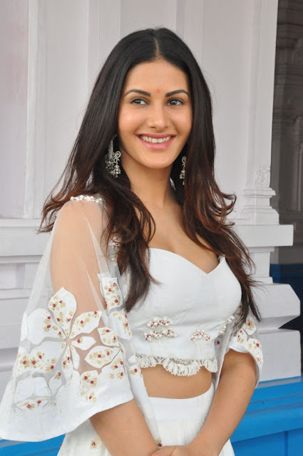 Amyra Dastur Stills At Anandi Indira Production New Movie Launch