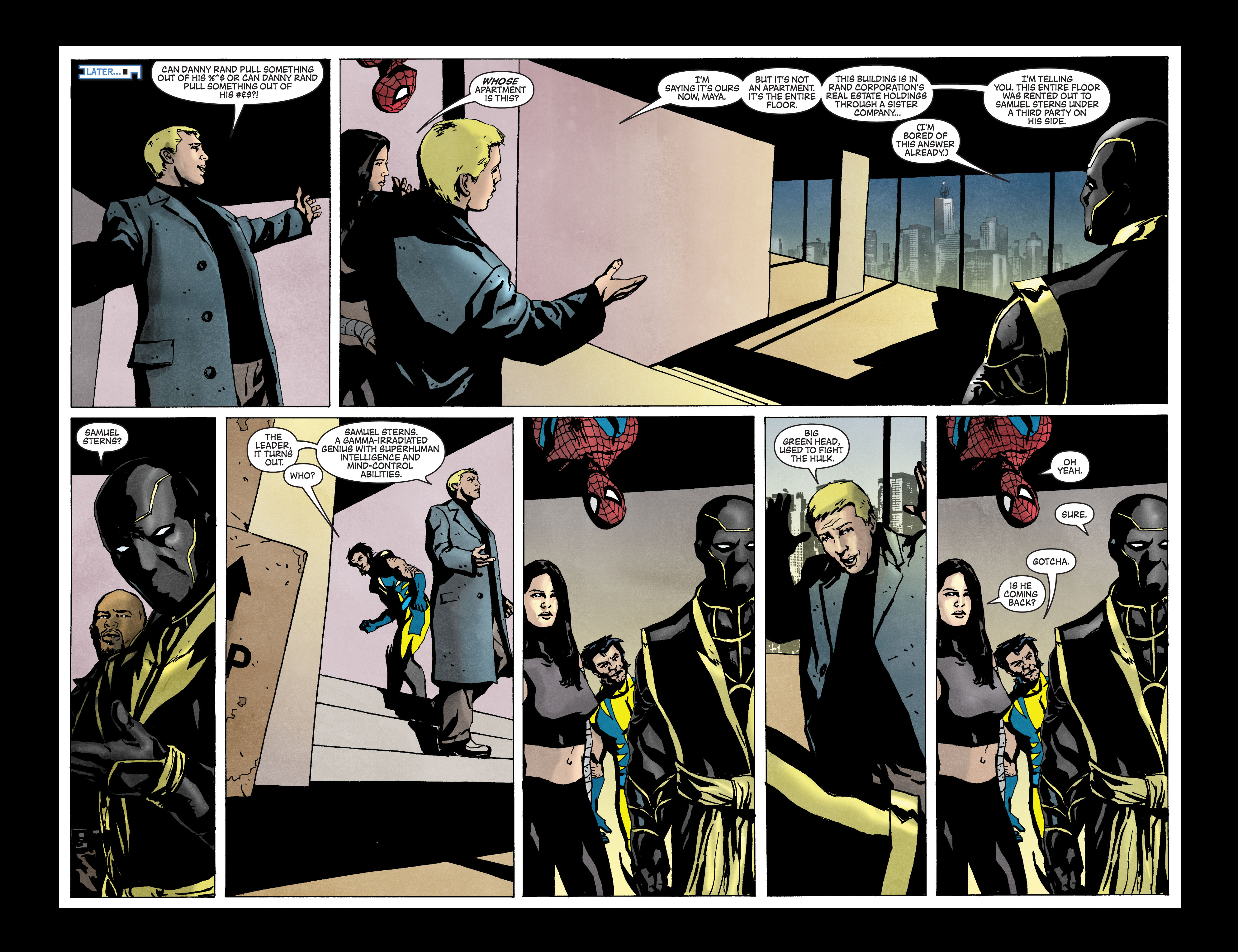 Read online Secret Invasion: The Infiltration comic -  Issue #3 - 18