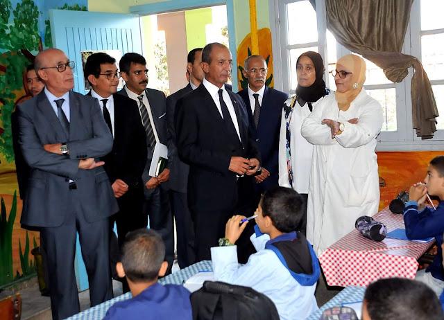 زيارة محمد حصاد للجديدة تعصف بالمدير الاقليمي للتعليم بالإقليم