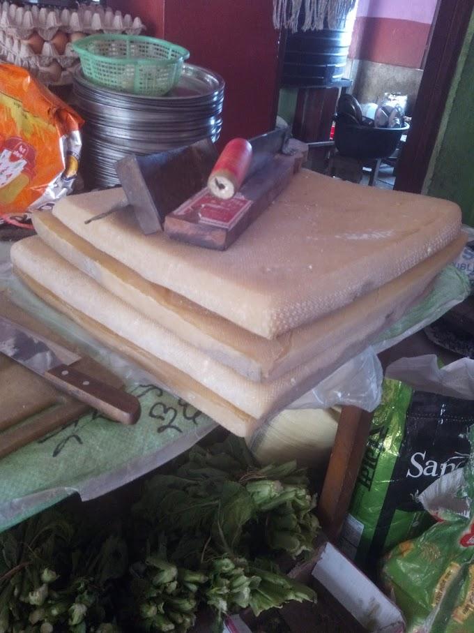 干しチーズ 座布団風