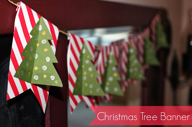 CHRISTMAS TREE BANNER