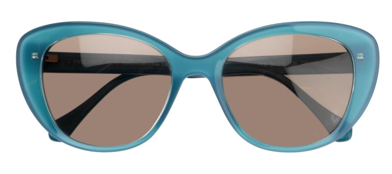 8555ebfa80 Gleam 2 in color 169  Retro-chic large rounded cat shape in aqua blue.  Great for the beach!