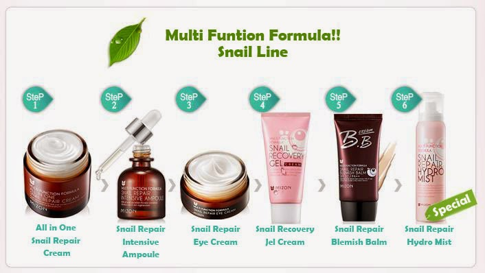 Snail Recovery Gel Cream Mizon