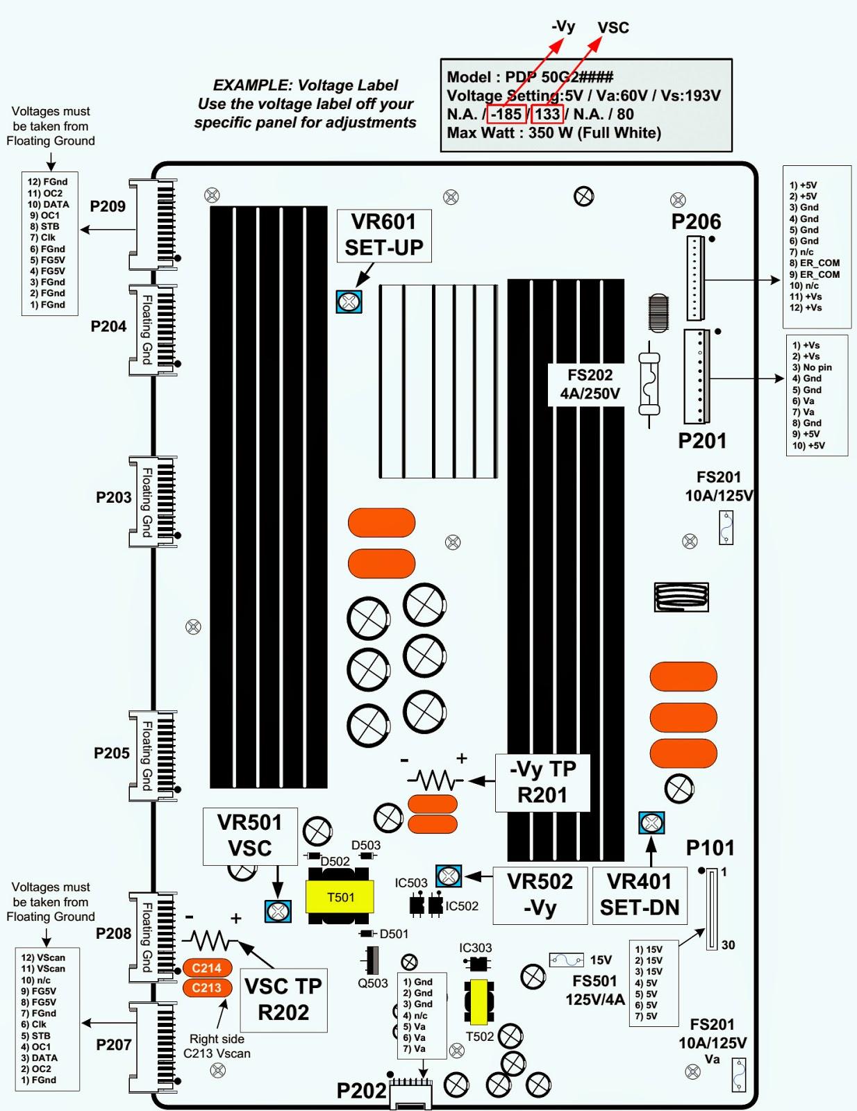 Lg 50pq30 50g2 Plasma Tv