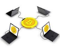 bitcoin network صورة توضيحية لشبكة البيتكوين