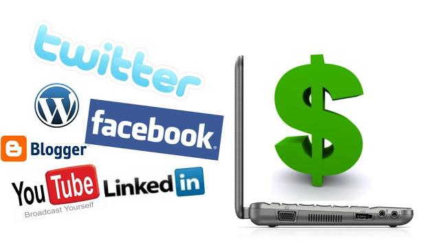 Earn Money online Using Social Media Platforms | Facebook,Twitter,Youtube,Pinterest