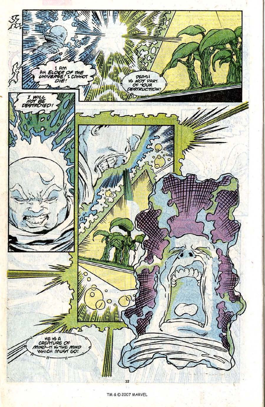 Read online Silver Surfer (1987) comic -  Issue #31 - 34