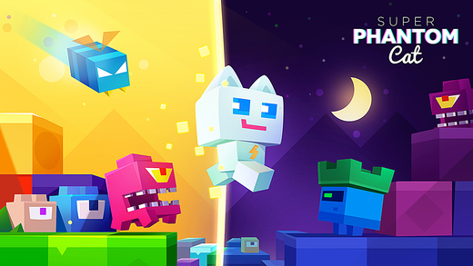 This week Apple Store has highlighted $1.99 Super Phantom Cat By Veewo Games as 'Free App of the Week' on App Store. That means you can download and enjoy this $1.99 worth game at no charge this week