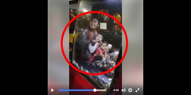 Video Aksi Sadis Penjambret yang Tega Sandera Seorang Ibu dan Bayinya di Jakarta jadi Viral