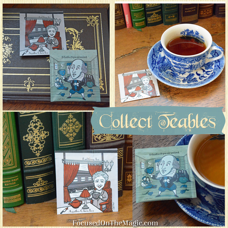 Agatha Chris Tea and the ShakeSpearmint teas by Collect Teables