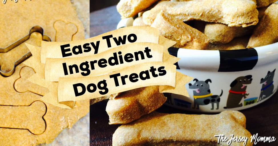 The Jersey Momma Easy 2 Ingredient Dog Treats Make Your
