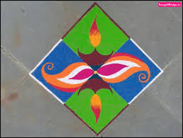 Easy Rangoli Designs For Beginners