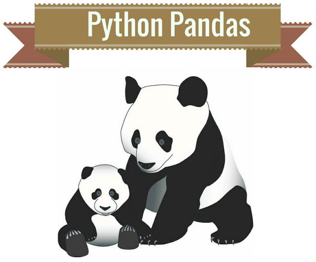العمل مع مكتبة Pandas