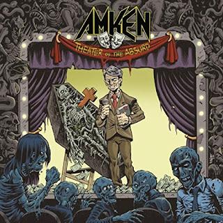 """Το βίντεο των Amken για το τραγούδι """"Shattered Sanity"""" από το album """"Theater of the Absurd"""""""