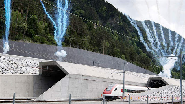 Gotthard Tunnel the Longest Tunnel in the World