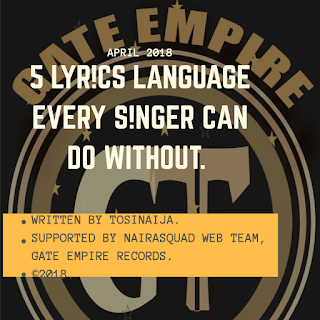 5 Lyrics Language Every Singer Cant Do  Without.