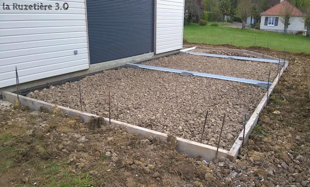 La ruzeti re 3 0 maison ossature bois rt 2012 terrasse for Joint pour terrasse exterieure