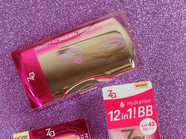 ZA Total Hydration BB Cream UV Swatches & Review