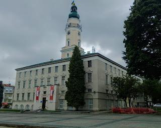 Дрогобыч. Городская ратуша. Дрогобычский городской совет