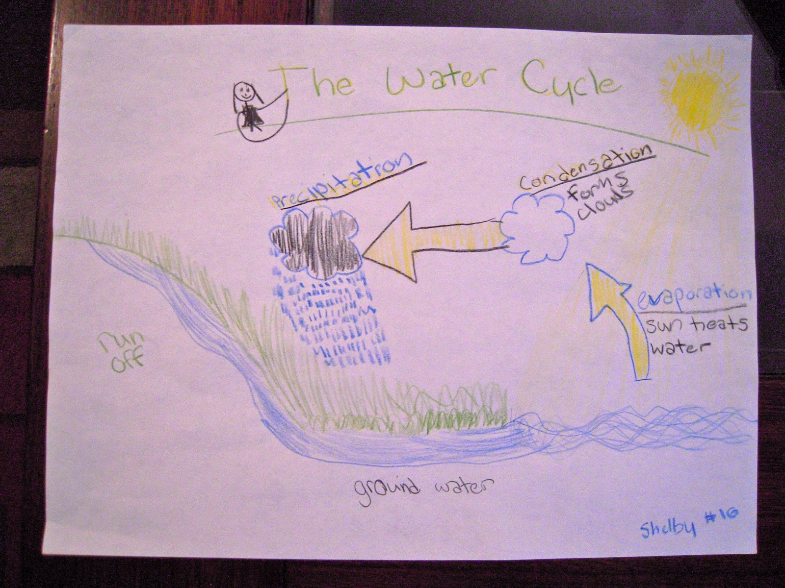 Fourth Grade Water Cycle Rubric
