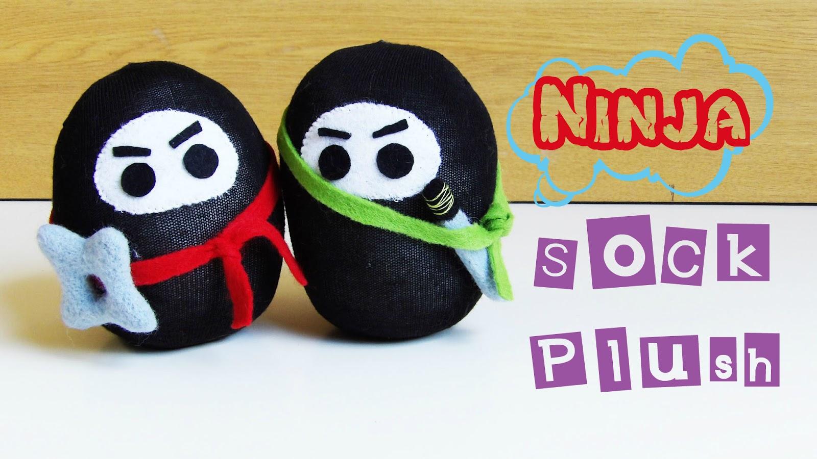 Ninja Sock Plush DIY