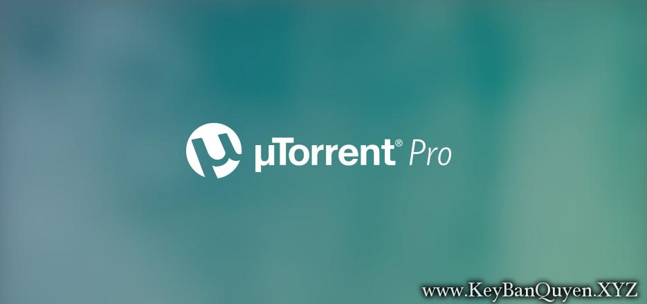 uTorrent Pro 3.5.4 build 44846 Stable Full Key , Phần mềm tải File Torrent số 1 hiện này.