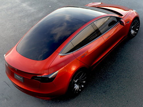 Tinuku.com Elon Musk confirmed Tesla Model 3 hit market this month