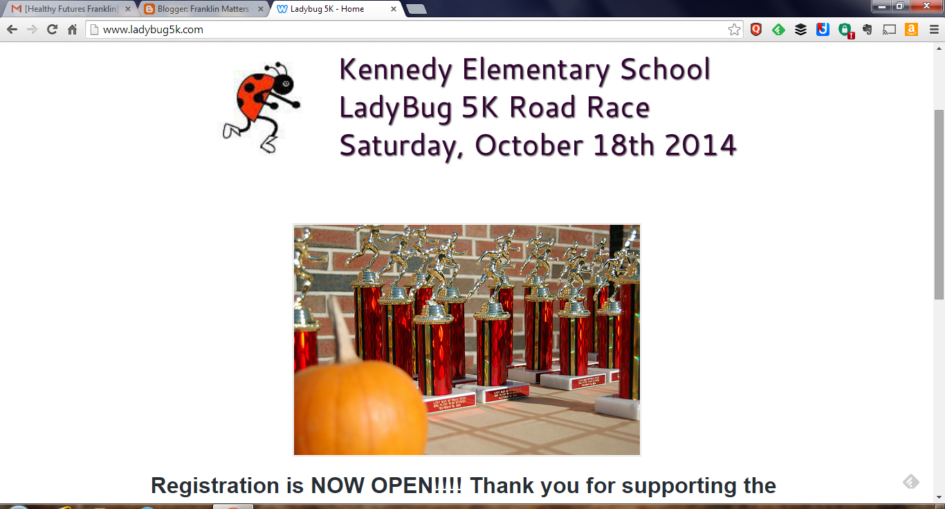 Ladybug 5K at JF Kennedy School