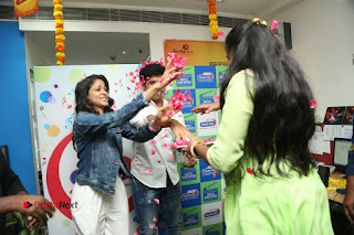 Allu Sirish Lavanya Tripathi Srirasthu Subhamasthu Promotions at Radio City  0080.JPG