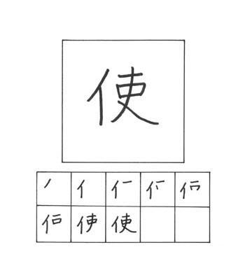 kanji menggunakan