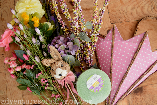 Supplies for spring decoration