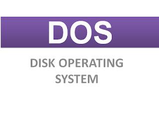 Pengertian dan Fungsi DOS (Disk Operating System) Pada Komputer